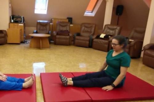 Telerehabilitacja - ćwiczenia rozciągające
