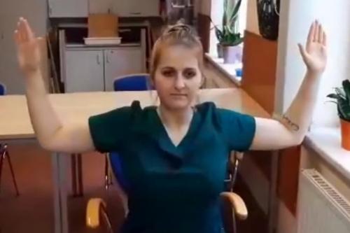 Telerehabilitacja - ćwiczenia kończyn górnych